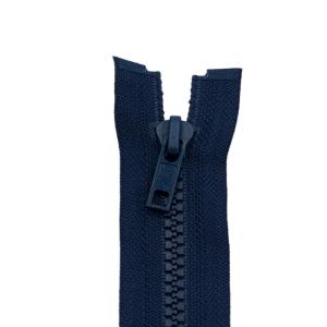 Reißverschluss Kunststoffkrampe 5mm, marine 60 cm