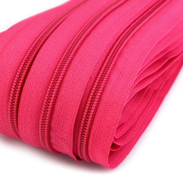 Endlosreißverschluss Spirale 5mm, pink