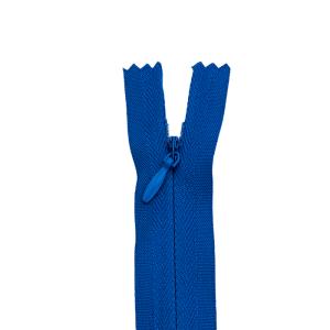 Nahtverdeckter Reißverschluss, royal 22 cm