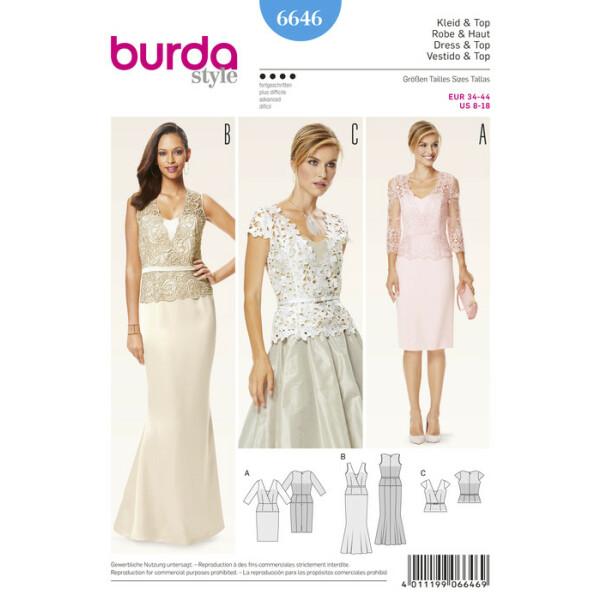 Kleid und Top F/S 2016 #6646