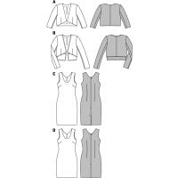Kleid, Jacke F/S 2015 #6773