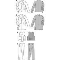 Anzug und Weste H/W 2014 #6871