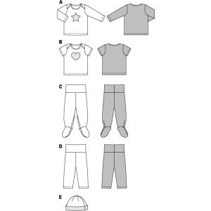 Shirt – Hose – Mütze H/W 2014 #9423