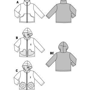 Jacke – Kapuzenjacke – Reißverschluss H/W 2014 #9425