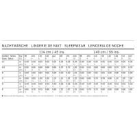 Nachtwäsche – Nachthemd – Schlafanzug H/W 2014 #9432
