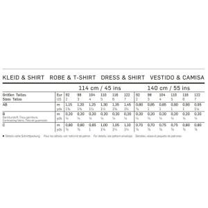 Kleid – Shirt – Puffärmel F/S 2014 #9438