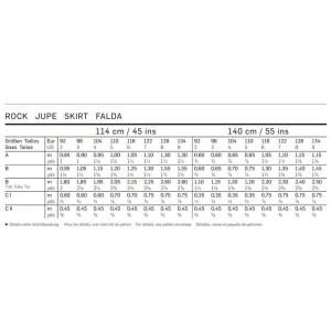 Rock – Stufenrock F/S 2014 #9442