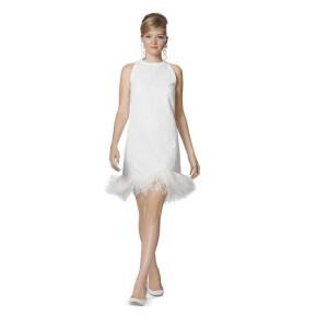 Kleid, Minus-Schulter F/S 2013 #7056