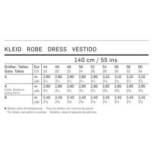 Sommerkleid, A-Linie F/S 2013 #7100