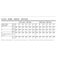 Trägerkleid, große Schleifen H/W 2013 #9447