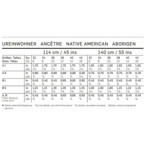 Ureinwohner Korsagenkleid – Kordelschnürung – Fellstulpen #2364