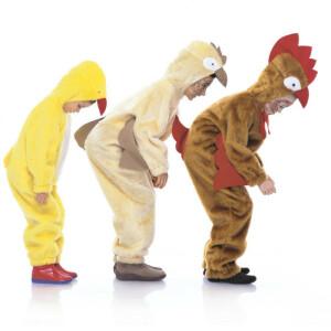 Hühner (Küken, Henne, Huhn, Hahn) #2425