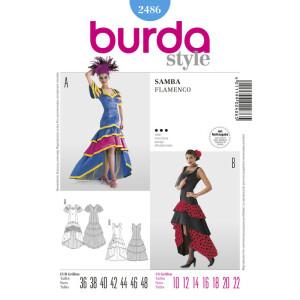 Samba-Kleid (& Flamenco-Kleid) #2486