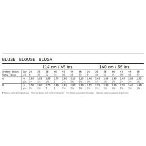 Bluse - Kragen #2561
