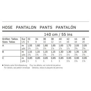 Gummizughose – Bermudas – Shorts #6938