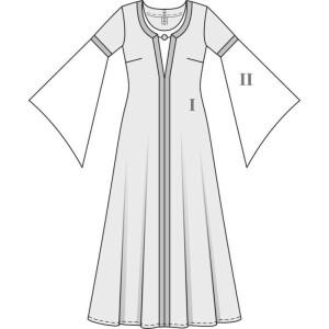Kleid & Haube H/W 2010 #7468