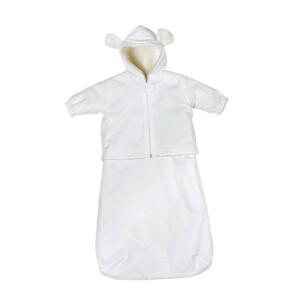 Baby Kombination: Overall, Jacke, Fußsack und Hose #9478