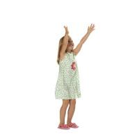 Kleid mit rundem Ausschnitt #9544