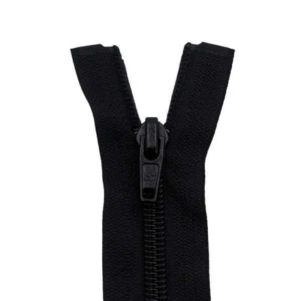 Reißverschluss Spirale 6mm, schwarz
