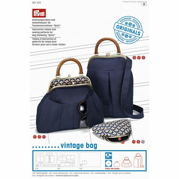 Prym Anleitungsvideo & Schnittmuster Vintage bag