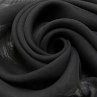 Chiffon, schwarz