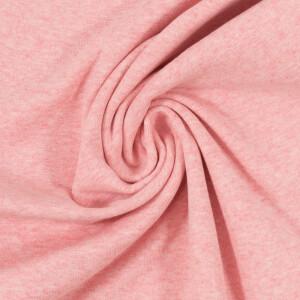 Bündchen meliert, rosa