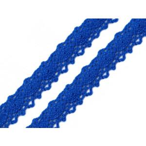 Klöppelspitze Baumwolle 12mm, royalblau