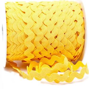 Zackenlitze 12mm, gelb