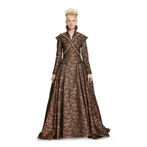 Renaissance - Langes festliches Kleid mit ausladendem...