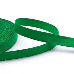 Köperband 16 mm, grün