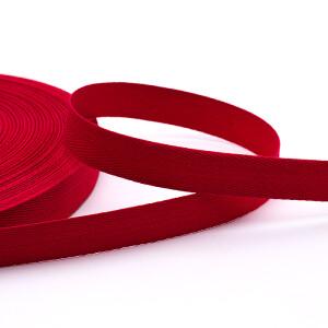 Köperband 16 mm, rot