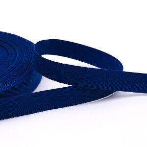 Köperband 16 mm, blau