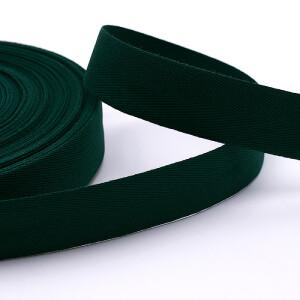 Köperband 25 mm, grün