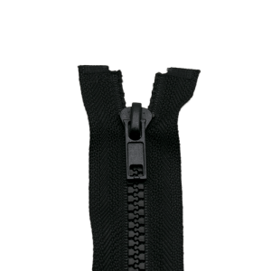 Reißverschluss Kunststoffkrampe 5mm, schwarz 35 cm