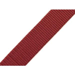 Gurtband 25mm, kupferrot