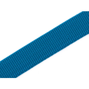 Gurtband 25mm, türkisblau