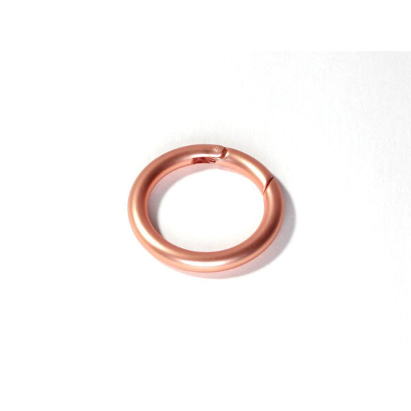 Ring Schnappverschluss 25mm, kupfer