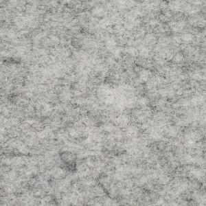 Filz 3 mm, hellgrau meliert 48x68cm