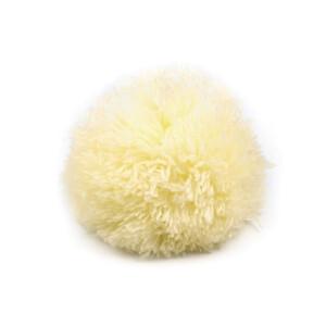 Pompon Bommel 8,5cm, pastellgelb