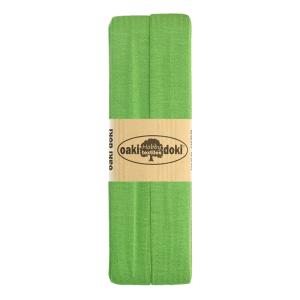 Jersey Schrägband 3 Meter, moosgrün