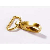 Taschenkarabiner 25mm, gold