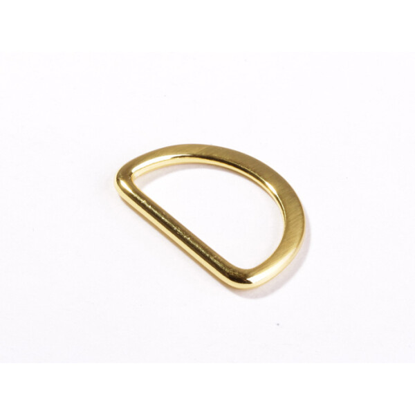 D Ring 25 mm, gold