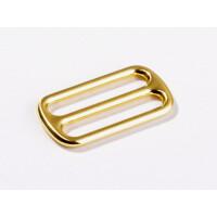 Schieber 25 mm, gold