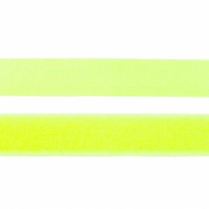 Klettverschluss 25mm, neongelb