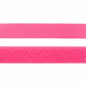 Klettverschluss 25mm, pink