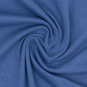 LPC Bündchen uni glatt, dunkelrauchblau
