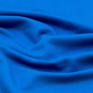 Bio-French Terry, blau