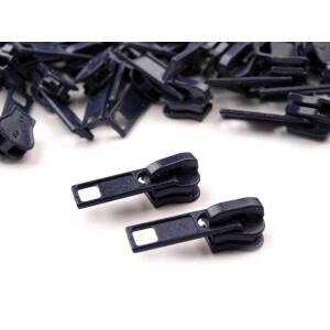 Reißverschluss Schieber 5mm, dunkelblau