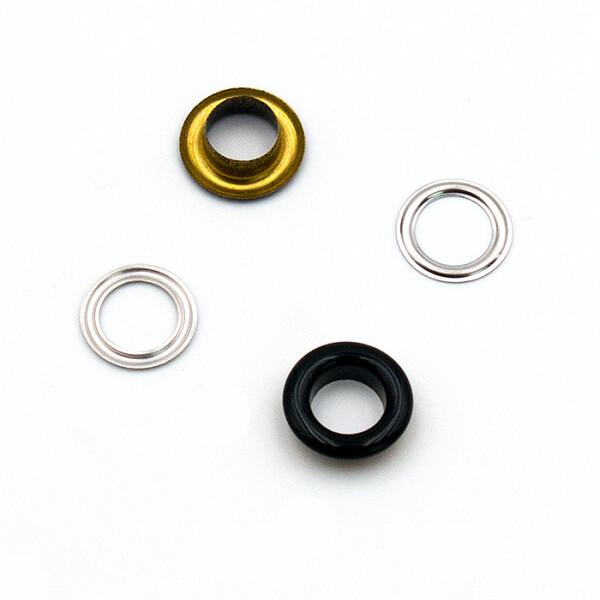 Ösen 8mm, schwarz