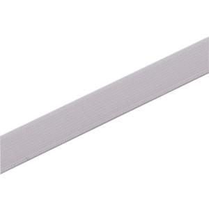 Einziehgummiband 12 mm, weiß
